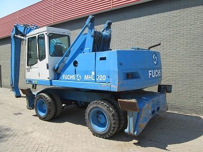 Индустриален багер  FUCHS MHL 320